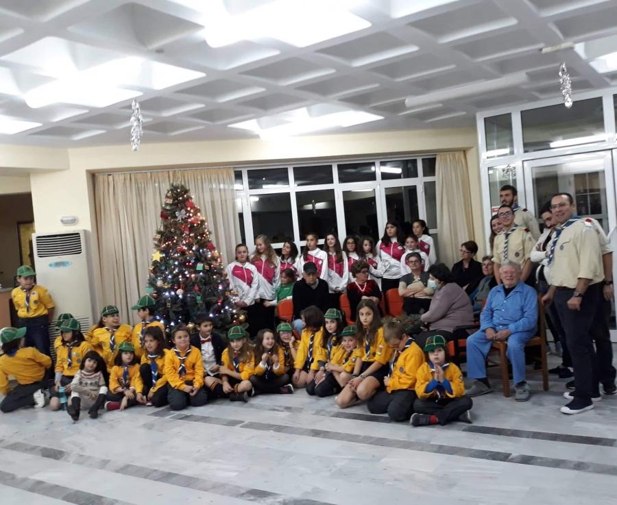 Στολισμός Χριστουγεννιάτικου Δένδρου στον Ογκολογικό Ξενώνα