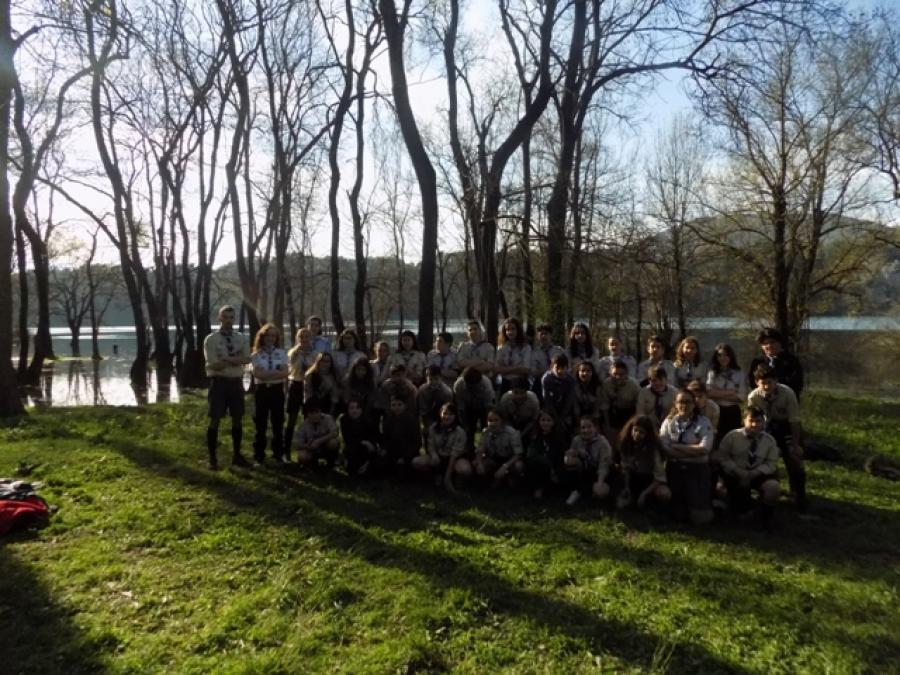 Εκδρομή της 2ης Ομάδας Προσκόπων Πάτρας στη Λίμνη Ζηρού